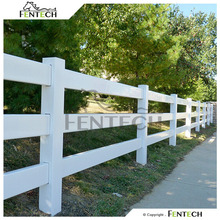 Fentech Animal Grassland 3 Rail Fence Used for Horses