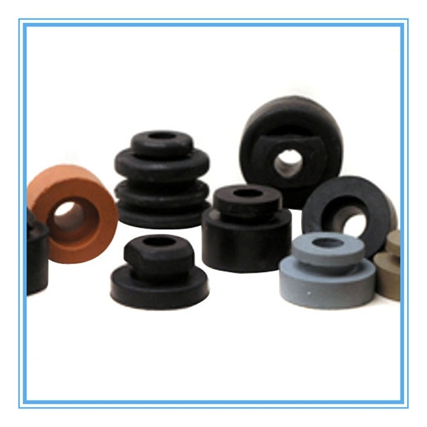 Custom small silicone rubber grommets
