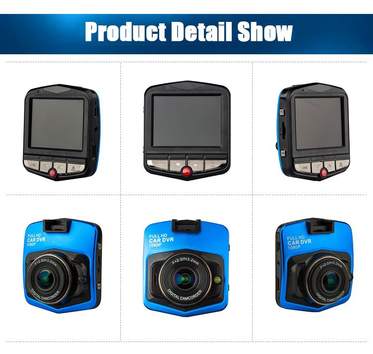 "Hot style mini vehicle driving video recorder camera 2.4"" HD mini in car dvr 2.4"" HD auto dvr vehicle security camera"