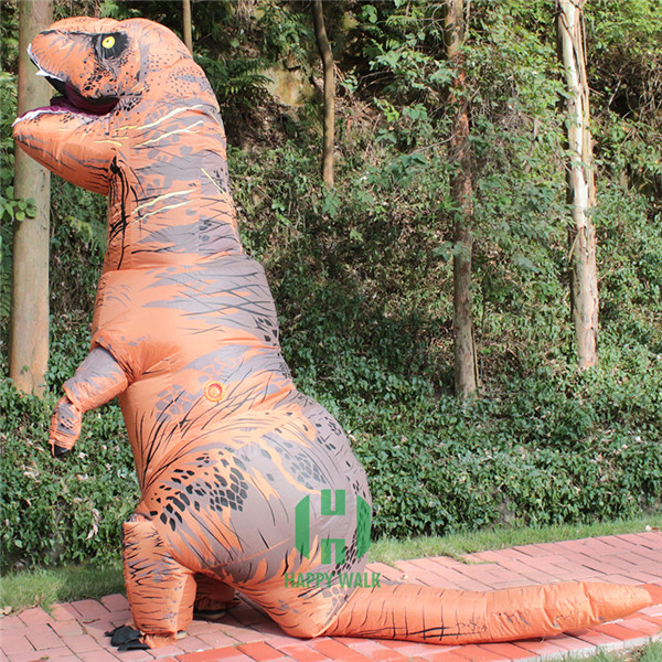HI CE t rex dinosaur costume inflatable giant t rex dinosaur costume