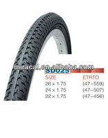 durable bicycle tyre and tube
