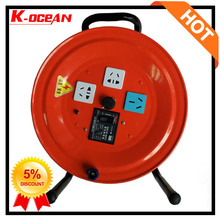 220V Power Cord Retractable Cable Reel