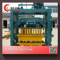 hand operated concrete hollow brick making machine , small manual block machine