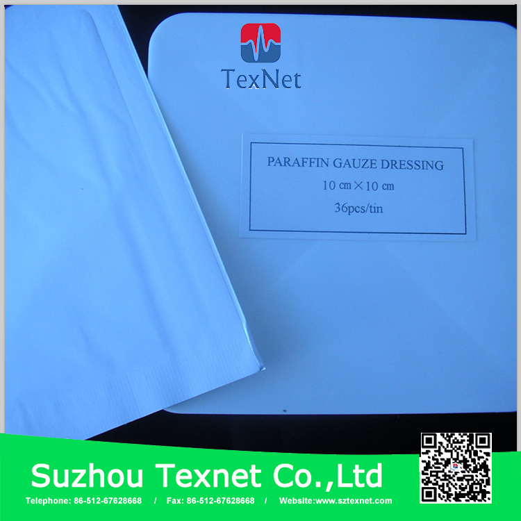 Wound dressing paraffin gauze with CE certificate