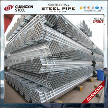 2017 New design galvanized steel pipe construction material