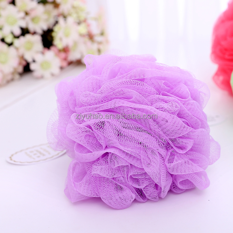 Silicone wholesale shower kids bath sponge with round head