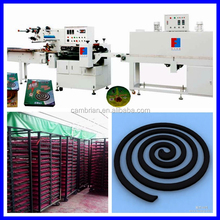 Pest control mosquito repellent patch coil making machine with large capacity