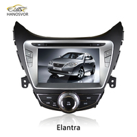 Hyundai Elantra 2013 Touch Screen DVD GPS With Bluetooth USB SD Card Rear-view Camera