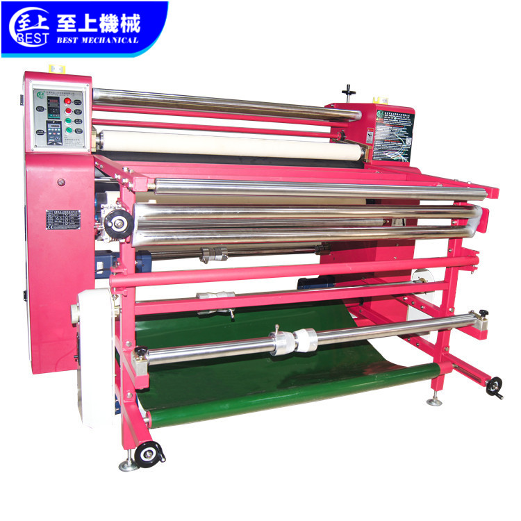 Multifunctional proof heat transfer roller printing machine