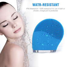 Professional Woman Use Beauty Product Electric Silicone Facial Cleansing Brush As Seen On TV For Home Use