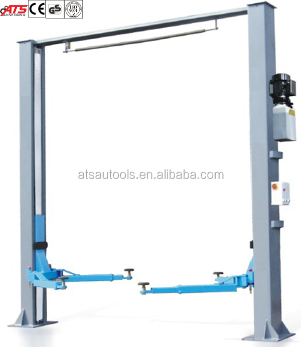 3.2T/4.0T/5.0T Clear Floor Two Post Lift (ELECTRICAL RELEASE)