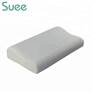Wave Shape Cool Gel Contour Massage Orthopedic Elastic Memory Foam Pillow