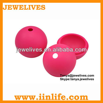 New design silicone dry ice ball