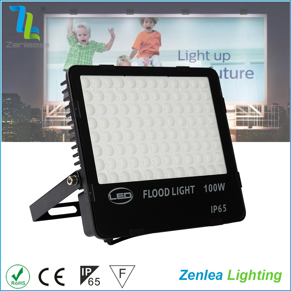Free sample slim ip65 waterproof smd outdoor 100w nano led flood light with motion sensor