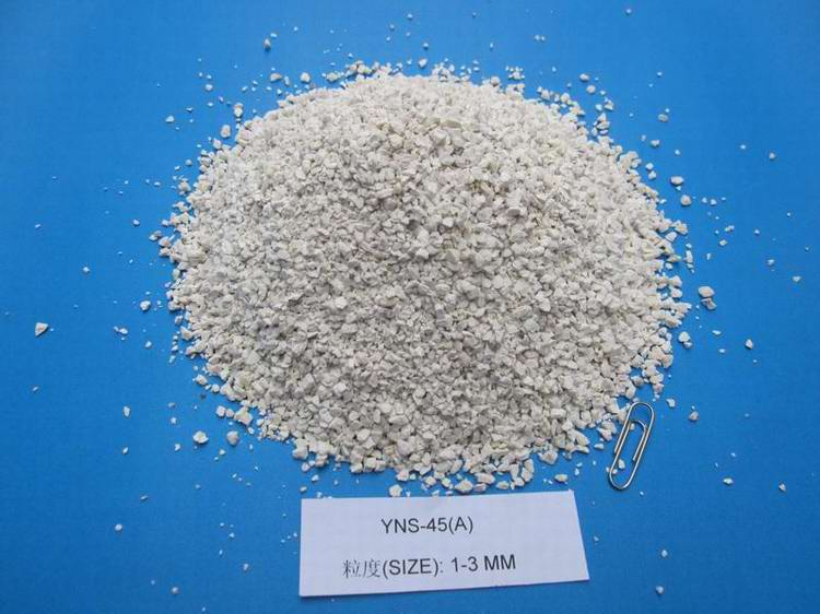 Refractory calcined flint clay,Calcined chamotte,8-16mush Calcined fire clay