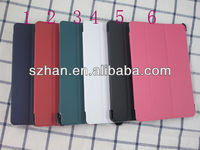 Luxury Stand PC+Compatible Smart PU Leather Case For Ipad mini