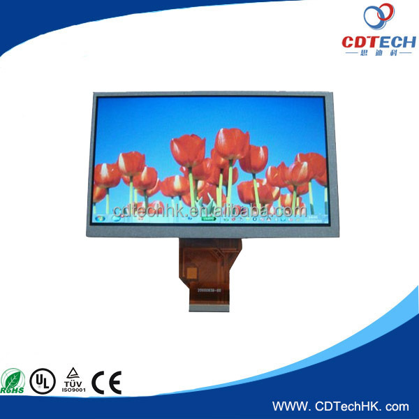 Cheap price Classical 7.0 inch color touch screen resistive LCD