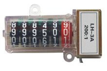 Electrical watt-hour meter pulse counter