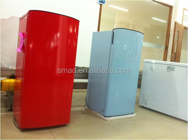 170L color single door refrigerator, red refrigerator, blue refrigerator