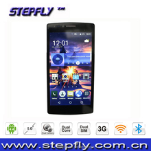 5.0 inch capacitive touch screen MTK6572 Dual Core Android 4.4 WIFI Bluetooth 3G Mobile Phone V15 smart phone