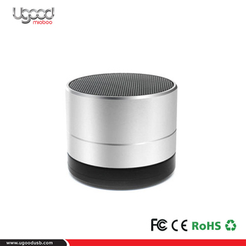 New Arrivals 2017 Silver Best Bluetooth Small Speaker For Home