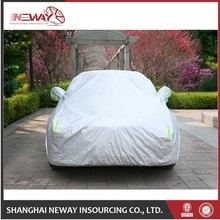 Waterproof high quality 170t polyester full car cover
