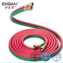 China factory price reinfrced twin line high pressure welding gas hose/cutting torch hose