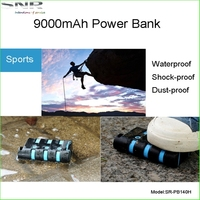 High Capacity Portable Micro USB External Extended Backup Battery Outdoor Camping Light Power Bank Charger