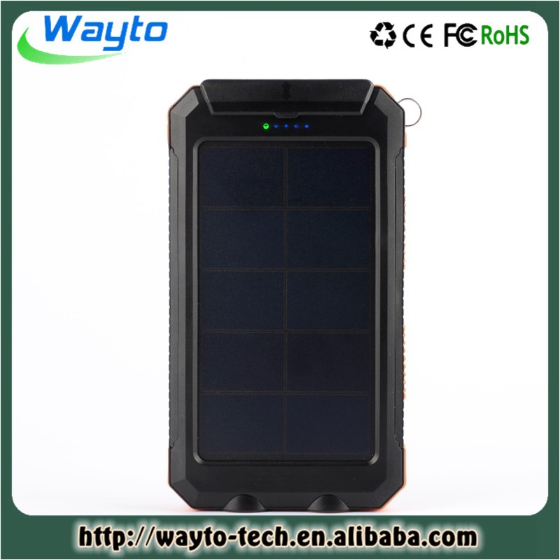 Customized 20000Mah Power Bank For Mobile Phone Japan Solar Charger