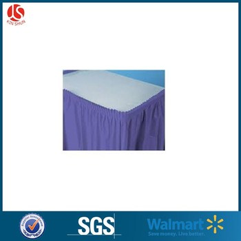 Cheap Price Decor Party Plastic Table Skirts