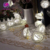 Christmas Decoration 10 LED Battery Fairy Lights Valentine Rose Flower Led Party String Light