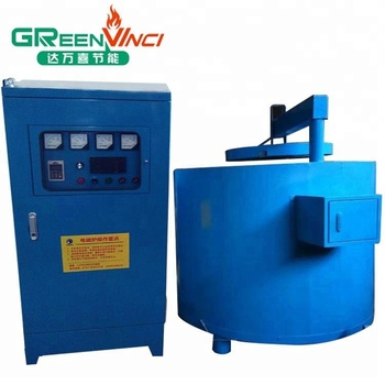 Medium frequency electric frequency high speed induction melting furnace for aluminium