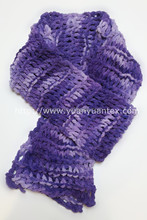 made in China good fancy yarn factory textile direct sale oeko tex chenille yarns floating colo for knitting scarf