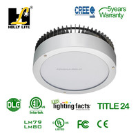 UL led gas station lights with DLC certificate with integrated sensor.