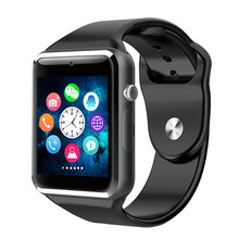 A1 Smart Phone Watch With GSM SIM Touch Screen Anti Lost Call For IOS/Android Mobile Phone