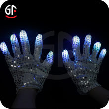 Bulk Importation Flashing Cheap Hot Led Light Gloves
