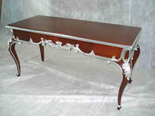 mahogany wooden carving console table I0002-1