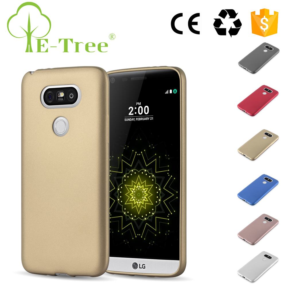 Wholesale Hot Sale Metal Paint Phone Case For LG G5 Smartphone Soft Case Cover