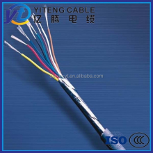 KVVP 3 core x 6MM2 flex Cu/pvc/pvc Al foil overall shielded cable