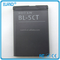 3.7v 1050mah bl-5ct battery for Nokia 5220XM 6303C 6730C C5-00 C6-01 C3-01