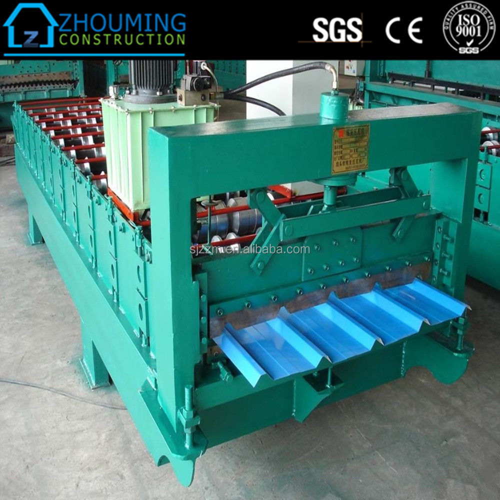 Galvalume colour zinc roofing sheet making machine