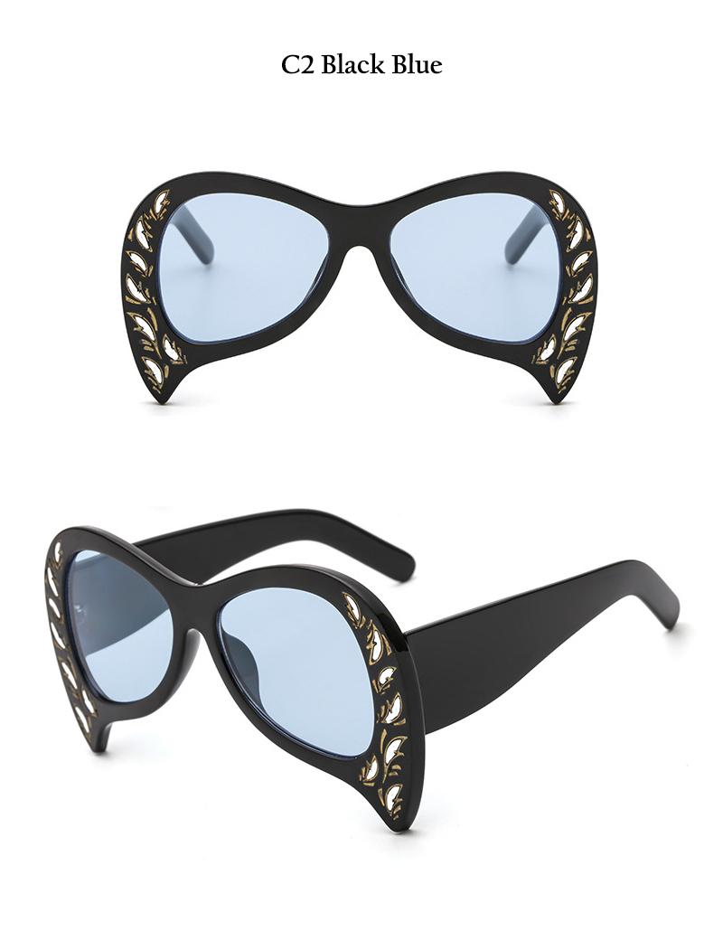 Rimless Cat Eye Sunglasses (10)