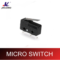 3PINS miniature mini type microswitch snap action LS microswitch 6A 250V AC joystick micro switch