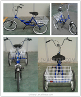 adult tricycles/tricycle for disabled/rickshaws for sale/big wheel trike nanyang clamber 7016
