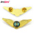 Factory wholesale die casting metal pilot wing badge