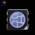 black surface super bright smd 6 pin RGB 5050 led chip datasheets for display