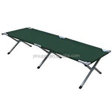 Folding military cot/camping cot for refugees
