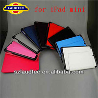 For iPad mini case leather, for original leather case for ipad mini