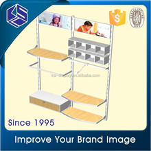 Cute design kids clothing hanging display shelves | clothing hanging display shelves rail