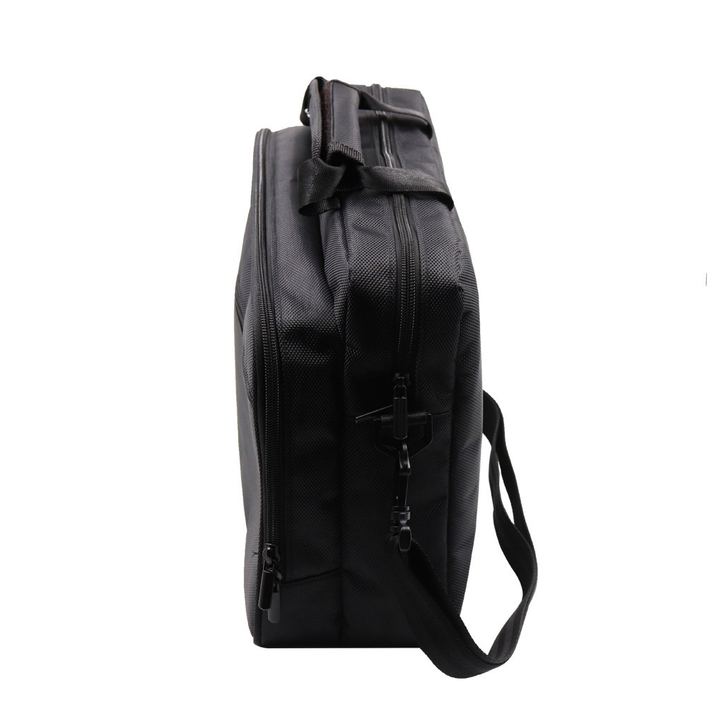 Travel Storage Shoulder Bag Oxford Material Protective Case for Xbox One X Scorpio Console Xbox One X Controller Carrying black